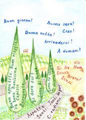 Zábavná a méně zábavná cvičení z italské slovní zásoby