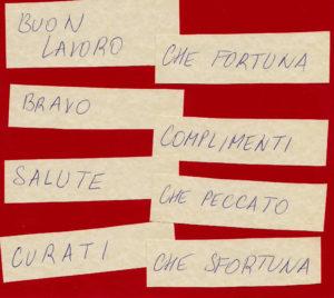 kartičky italština